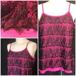 Silky & Stretchy Lace Cami